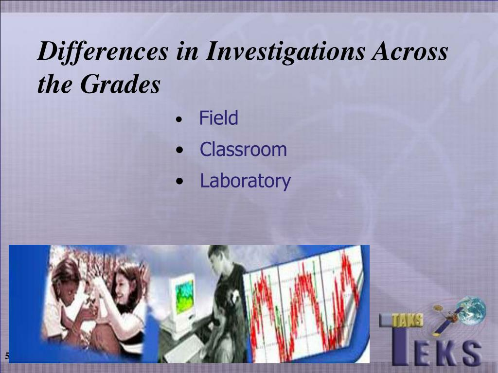 Differences in Investigations Across