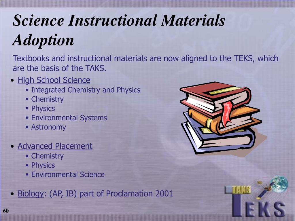 Science Instructional Materials Adoption