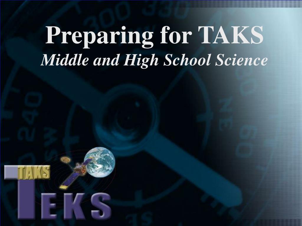 Preparing for TAKS