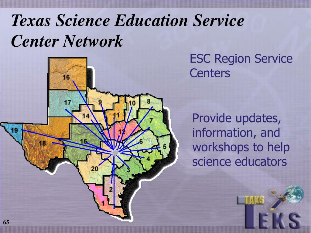 Texas Science Education Service Center Network