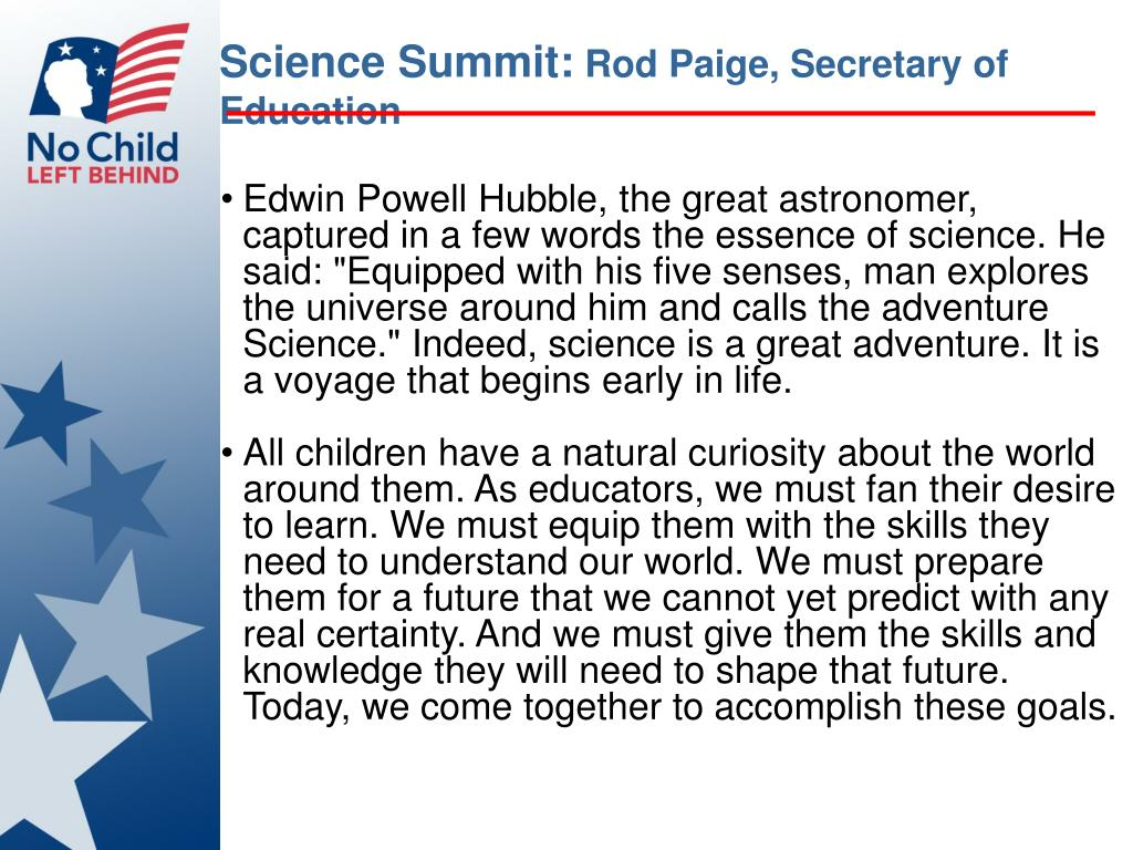 Science Summit: