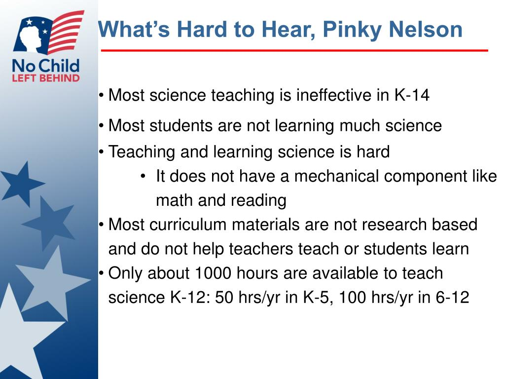 What's Hard to Hear, Pinky Nelson