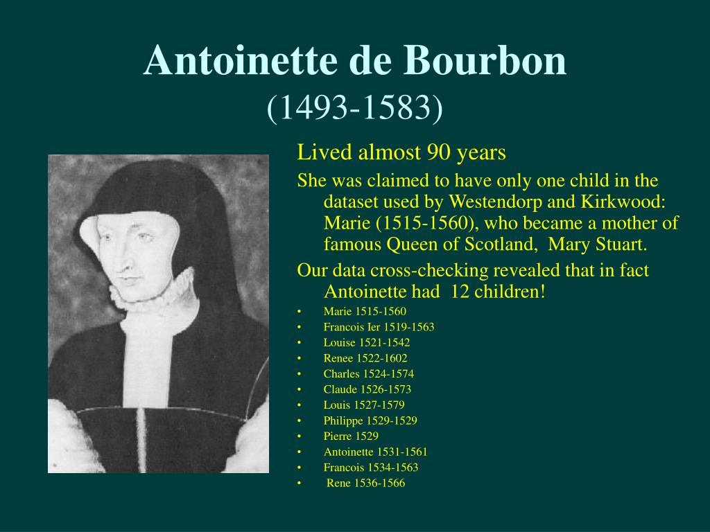 Antoinette de Bourbon
