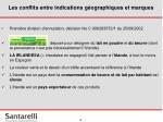 les conflits entre indications g ographiques et marques17
