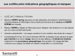 les conflits entre indications g ographiques et marques34
