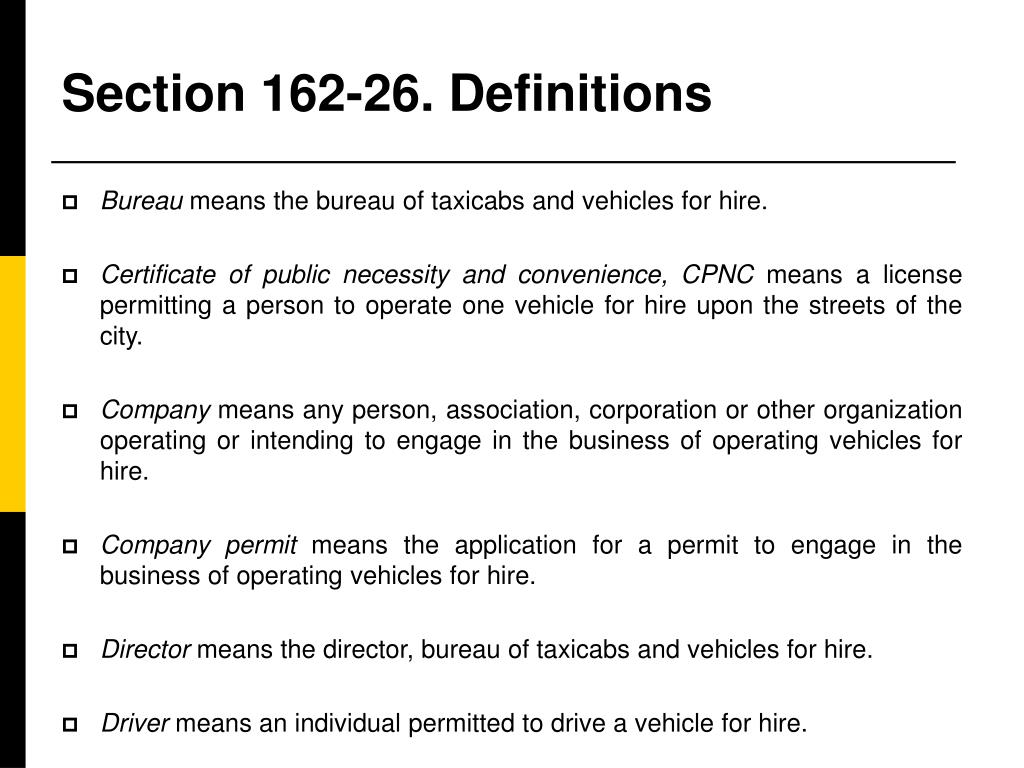 Section 162-26. Definitions