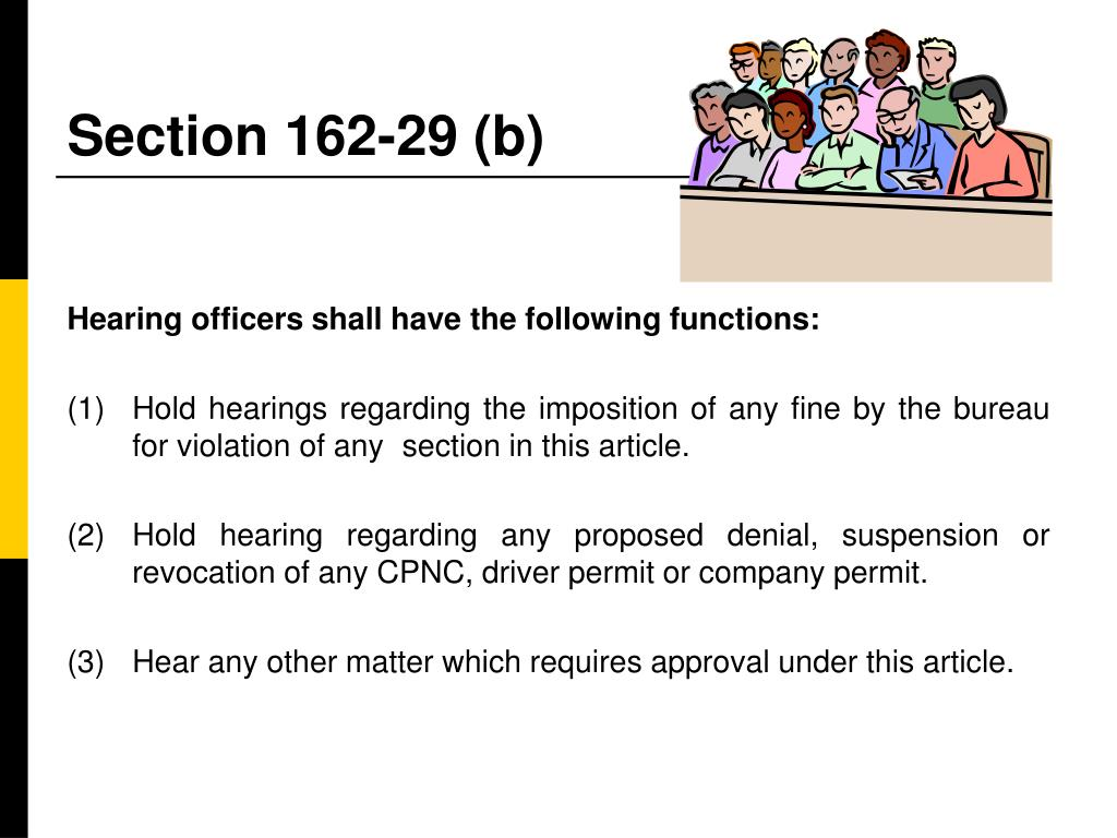 Section 162-29 (b)
