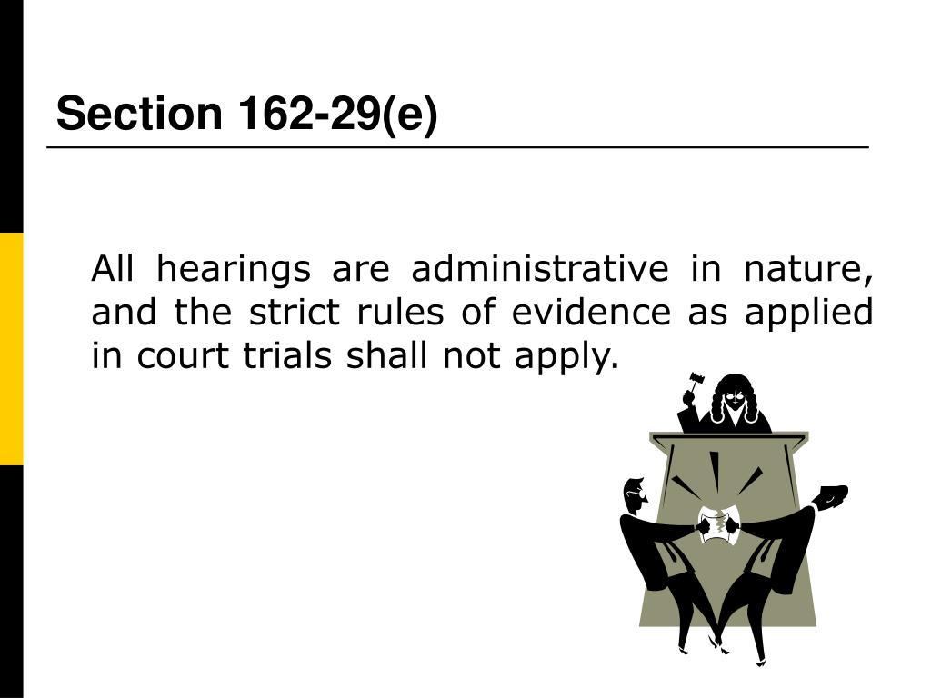 Section 162-29(e)