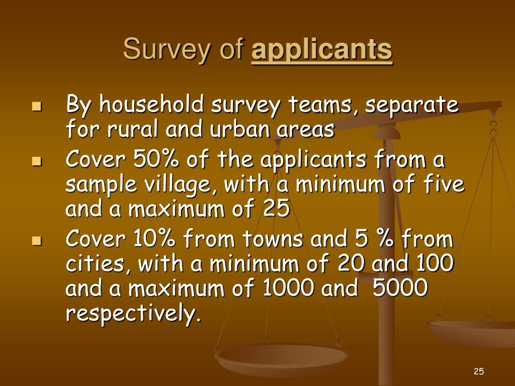 Survey of