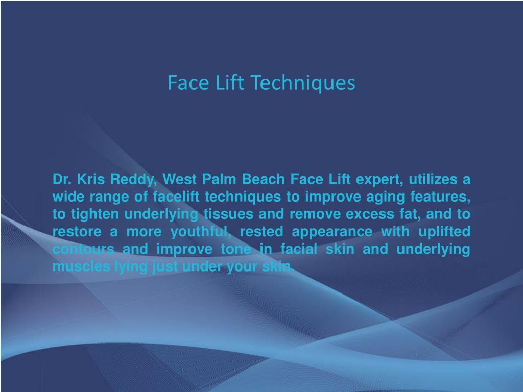 Face Lift Techniques