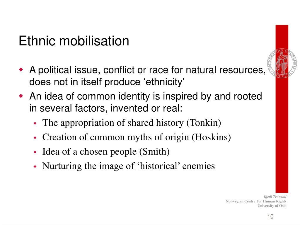 Ethnic mobilisation