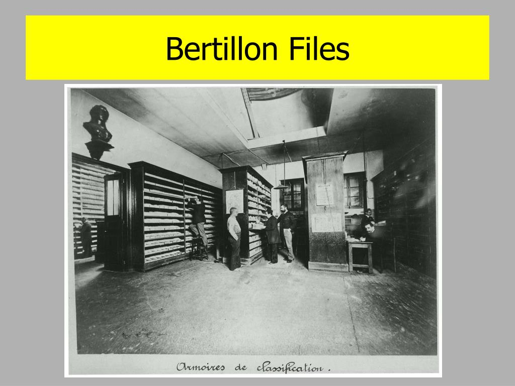 Bertillon Files