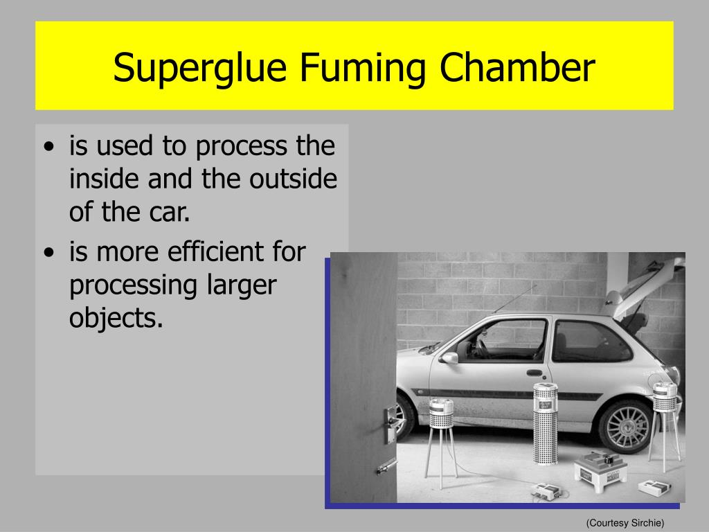 Superglue Fuming Chamber