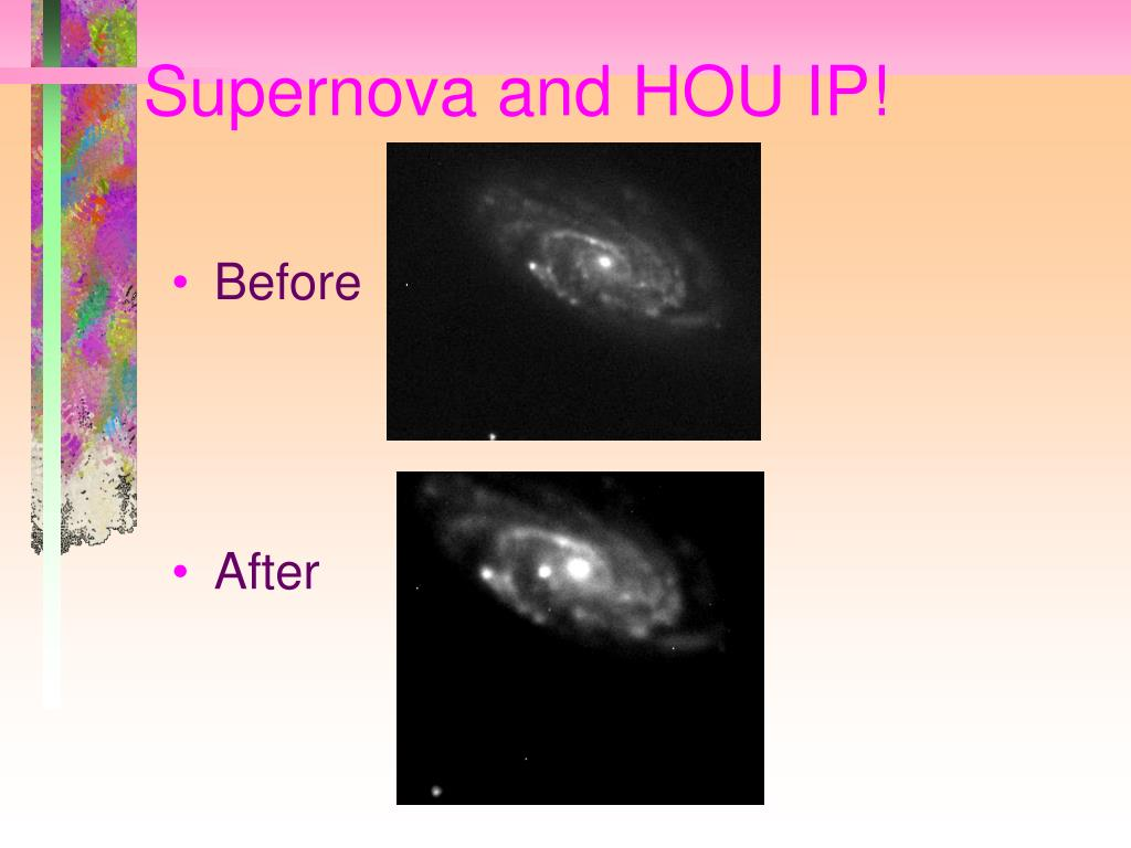 Supernova and HOU IP!