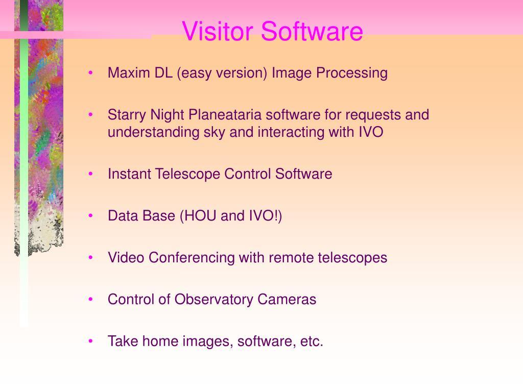 Visitor Software