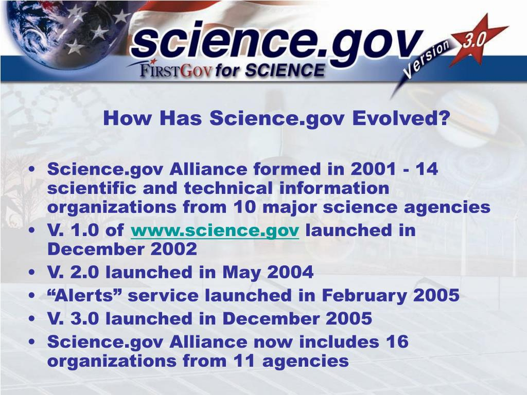 How Has Science.gov Evolved?