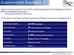 governmental readiness