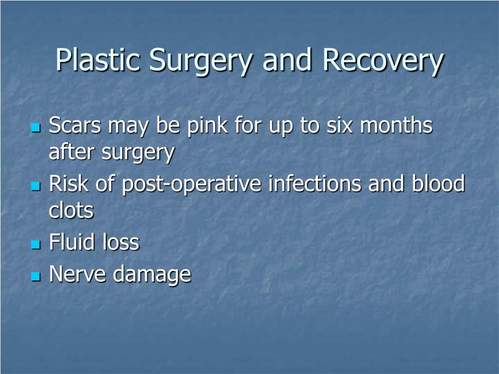 Plastic Surgery and Recovery