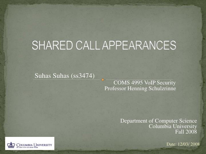 Shared call appearances l.jpg