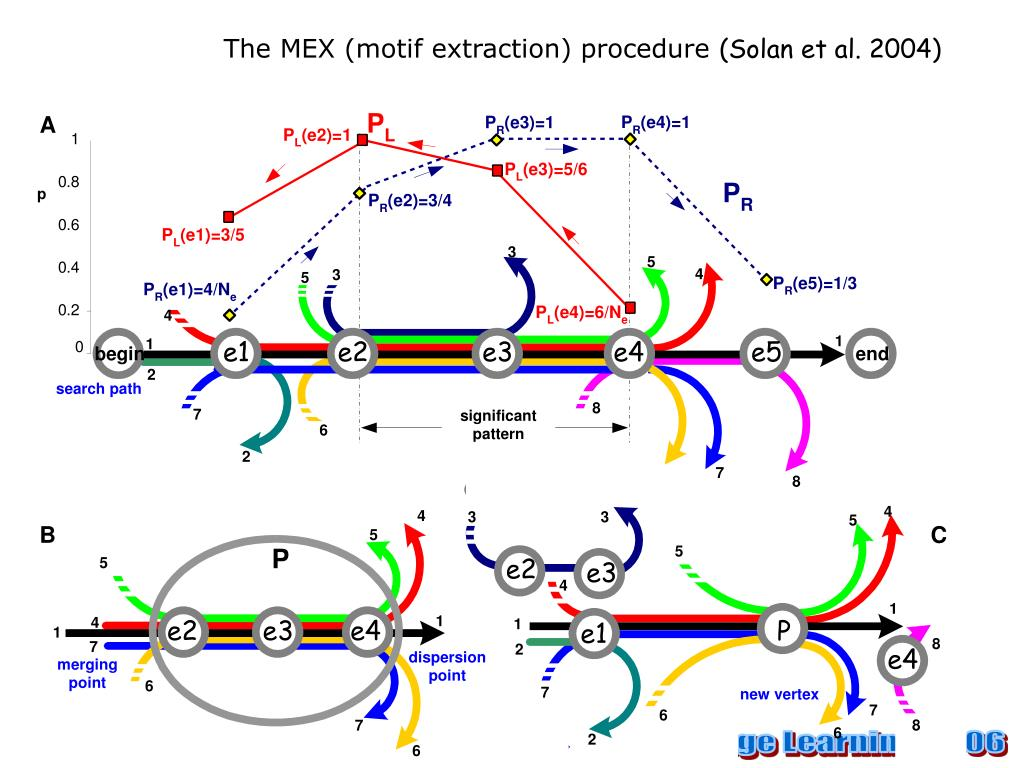 The MEX (motif extraction) procedure