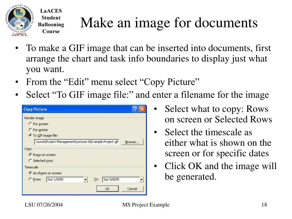 Make an image for documents