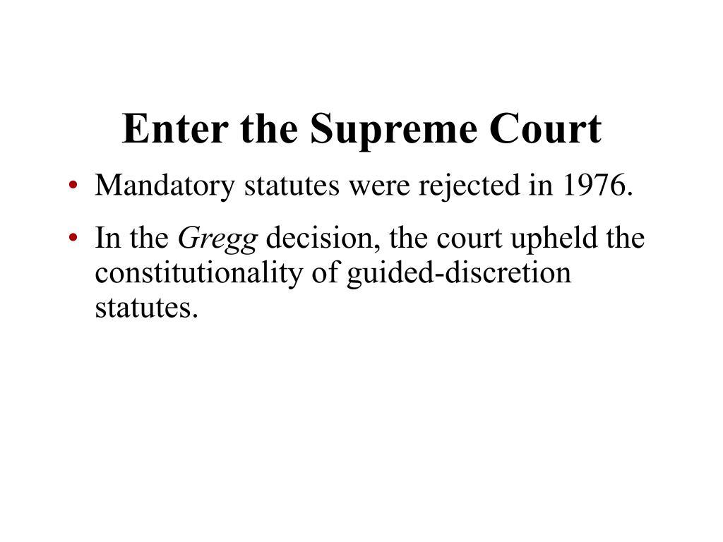 Enter the Supreme Court
