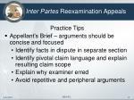 inter partes reexamination appeals17