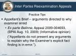 inter partes reexamination appeals18