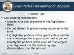 inter partes reexamination appeals24