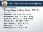 inter partes reexamination appeals4