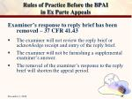 rules of practice before the bpai in ex parte appeals24