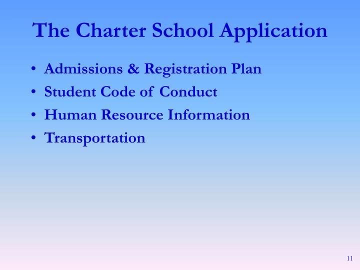Admissions & Registration Plan