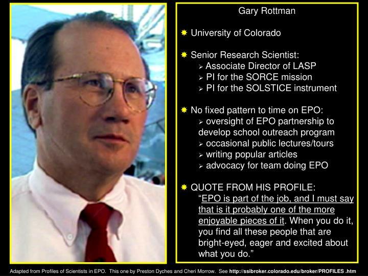 Gary Rottman