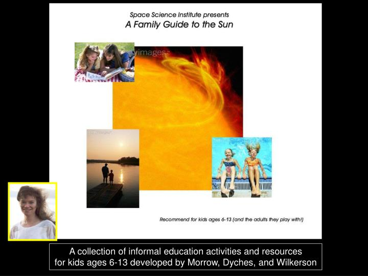 A collection of informal education activities and resources