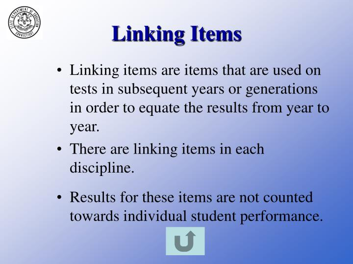 Linking Items