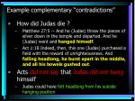 example complementary contradictions9