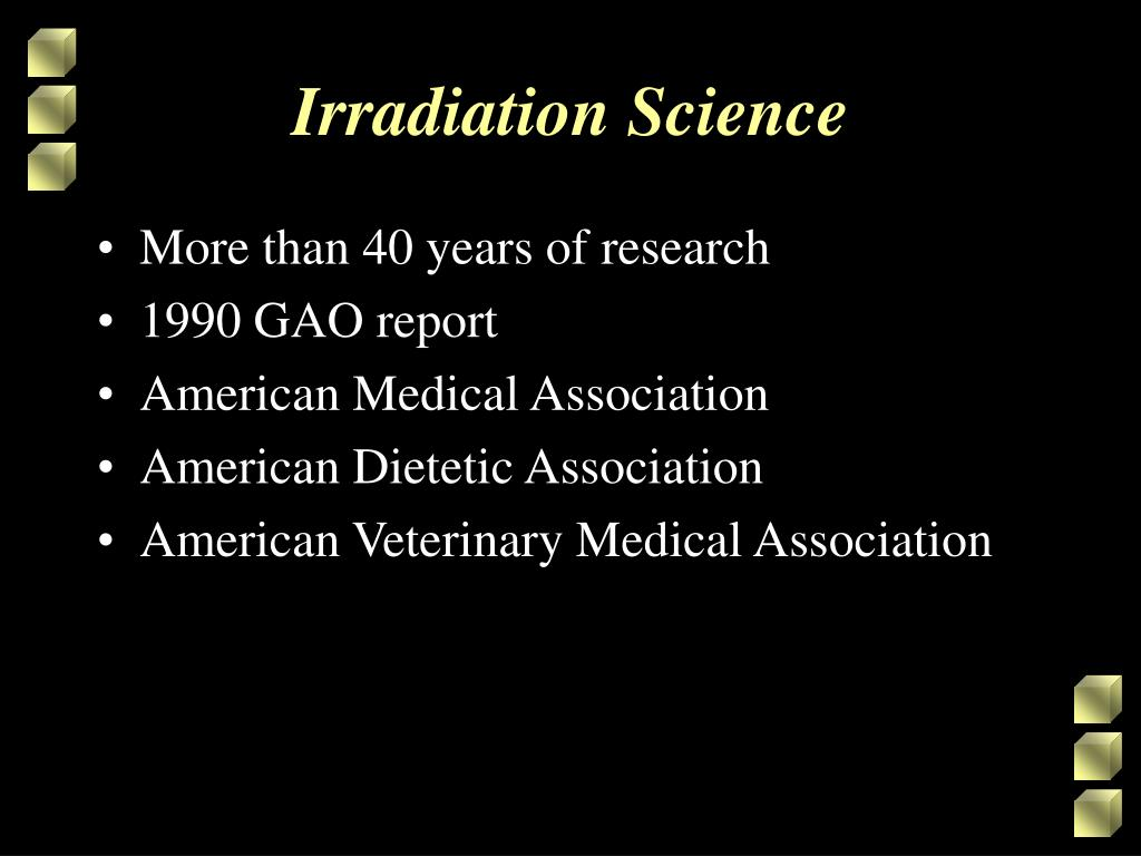 Irradiation Science