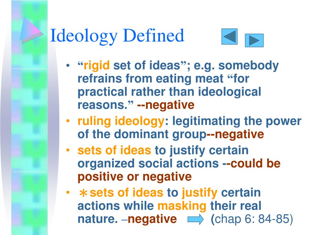 Ideology Defined