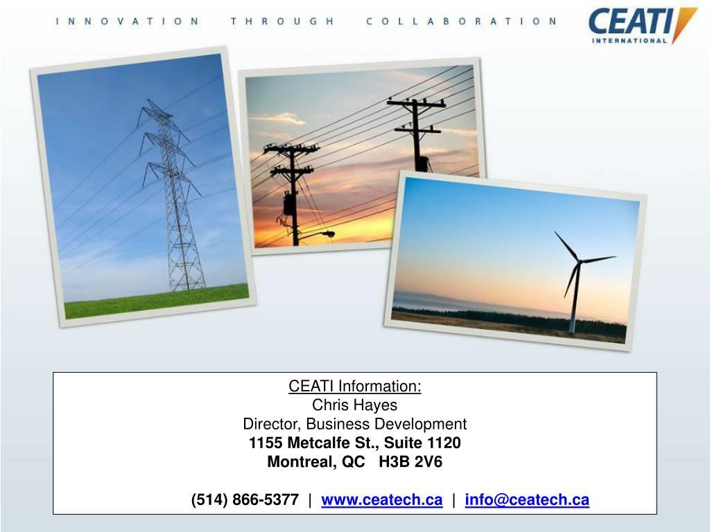 CEATI Information: