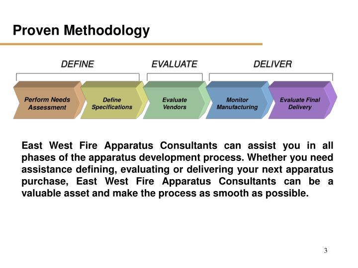 Proven Methodology
