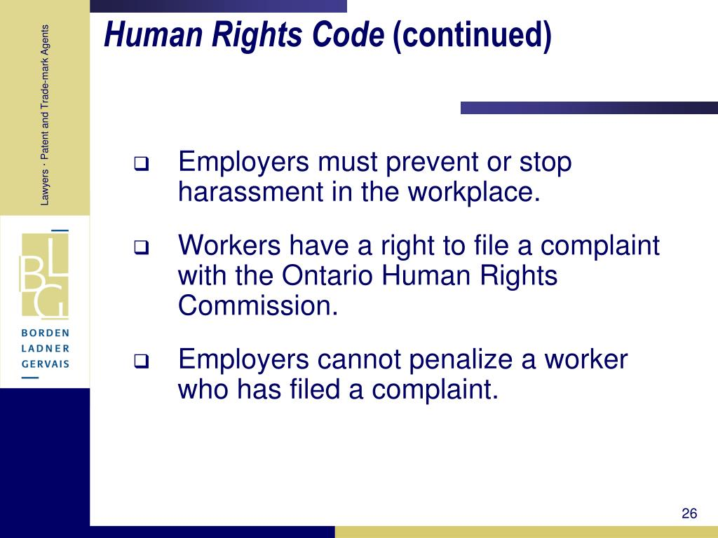 Human Rights Code