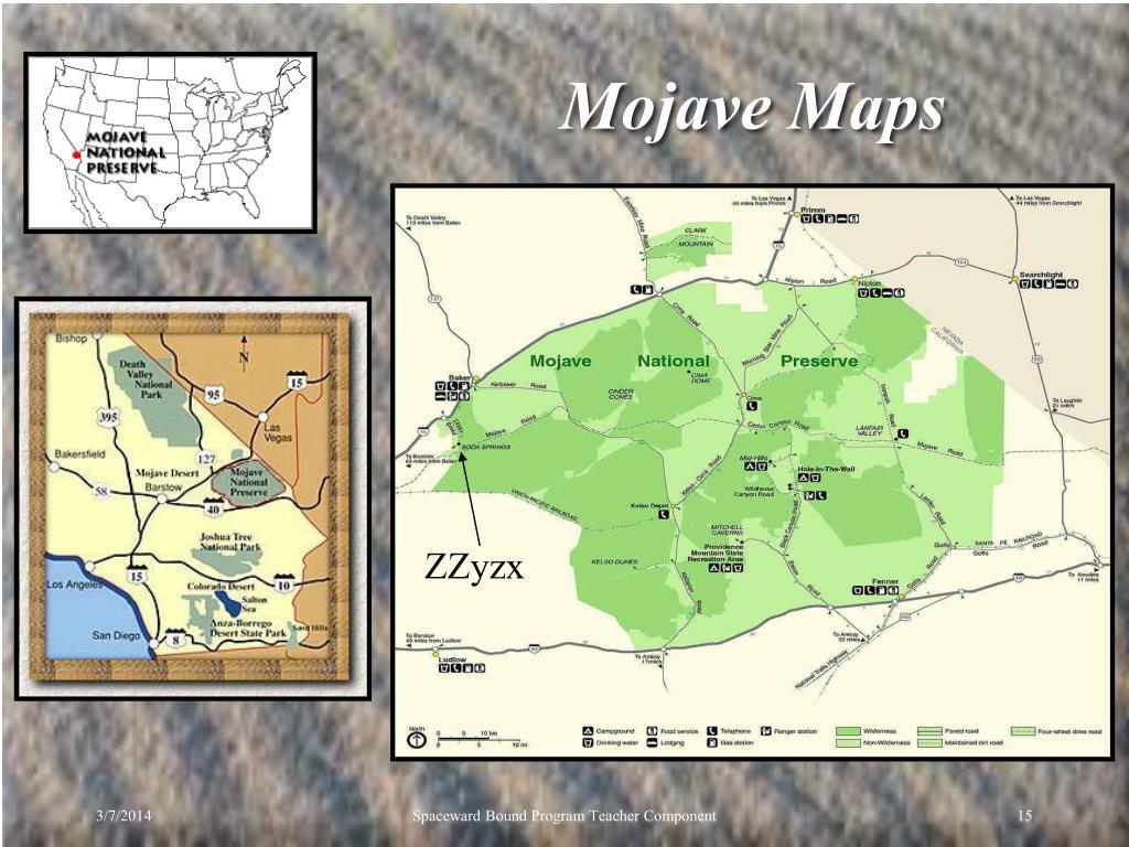 Mojave Maps
