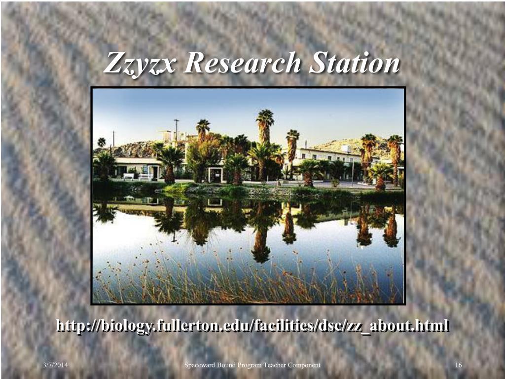 Zzyzx Research Station