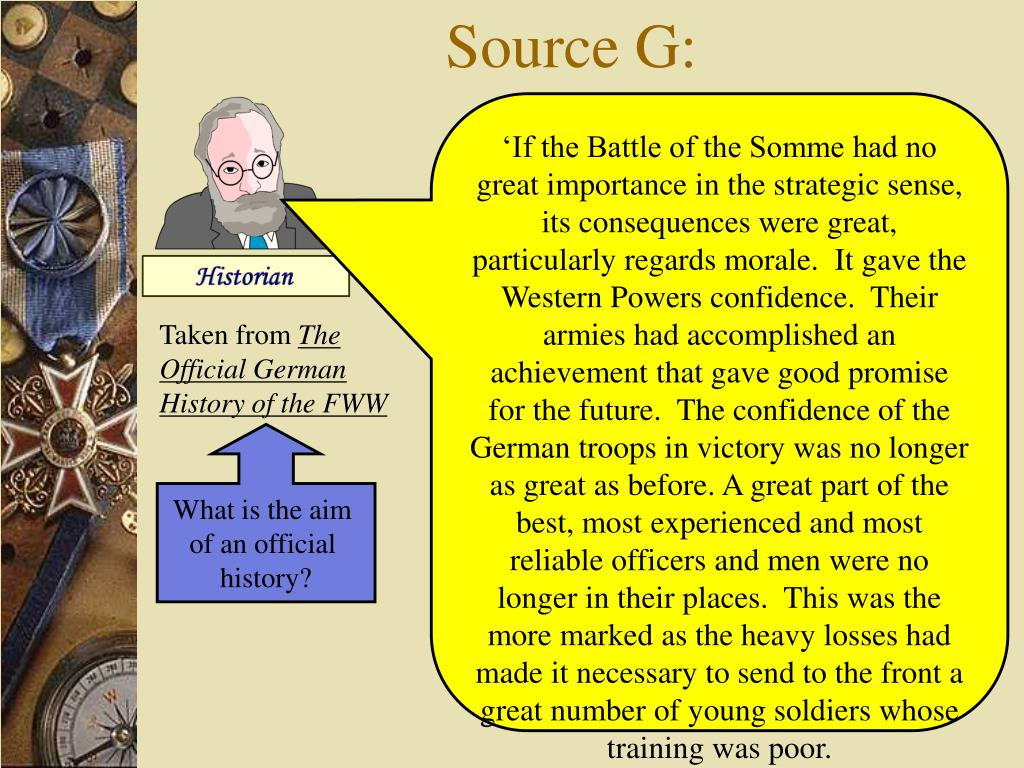 Source G: