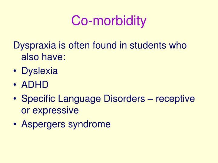 Co-morbidity