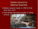 estates general to national assembly
