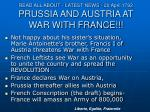 read all about latest news 20 april 1792 prussia and austria at war with france