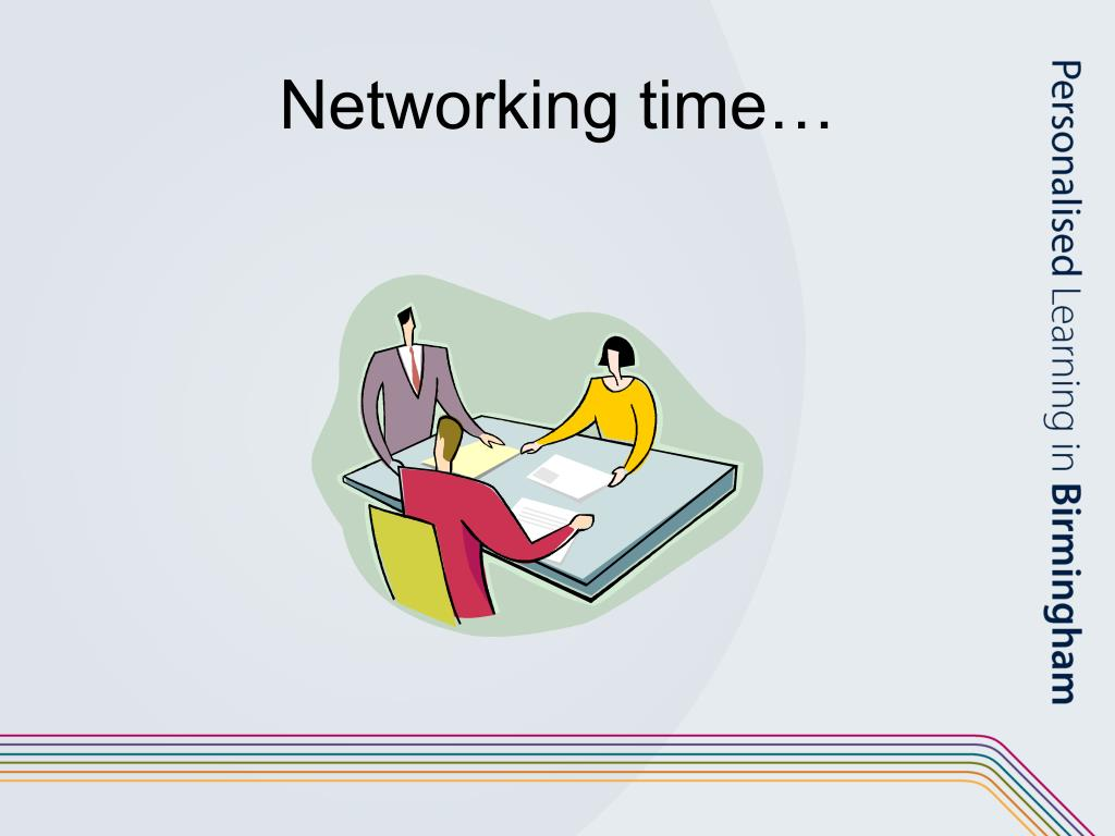 Networking time…