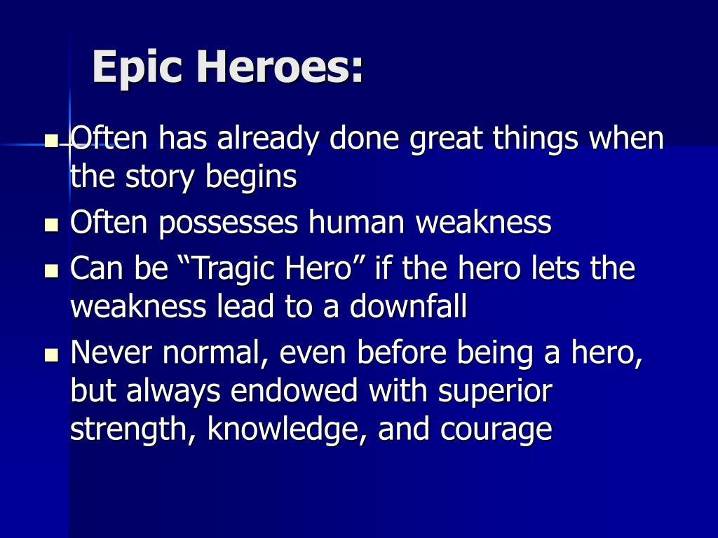 Epic Heroes: