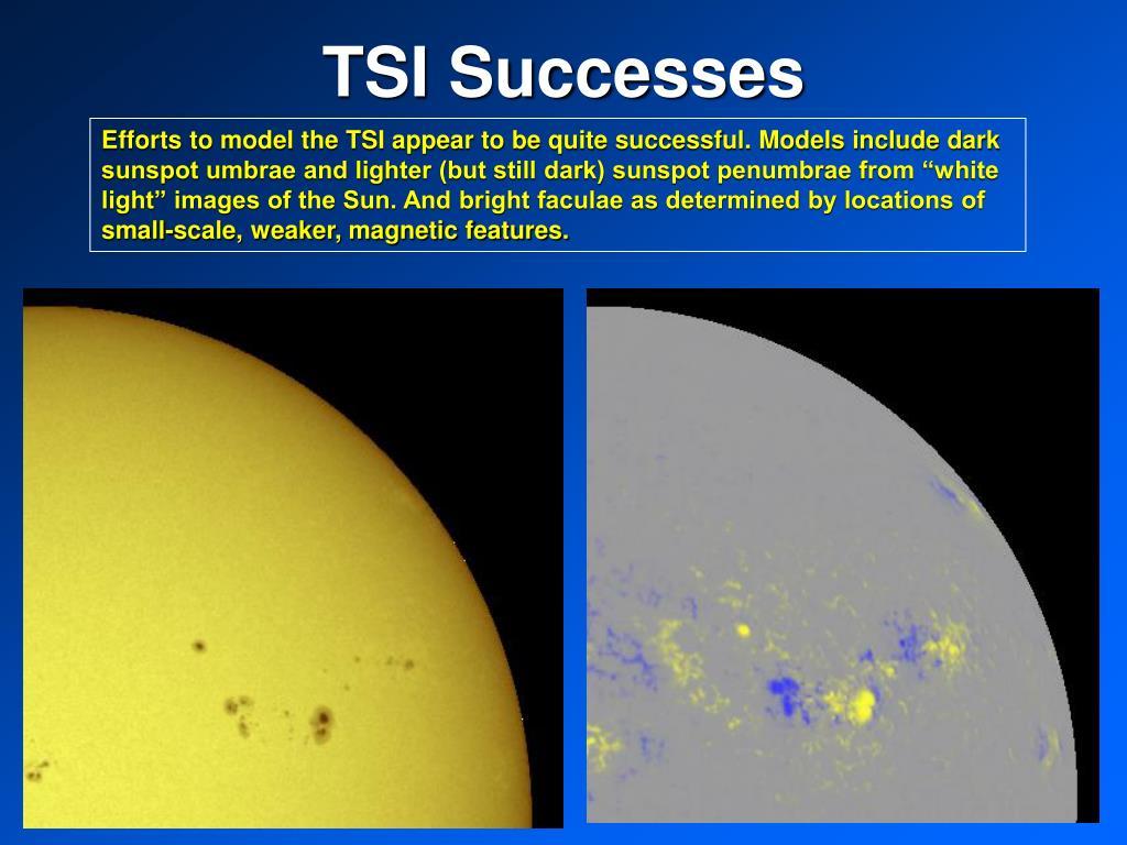 TSI Successes